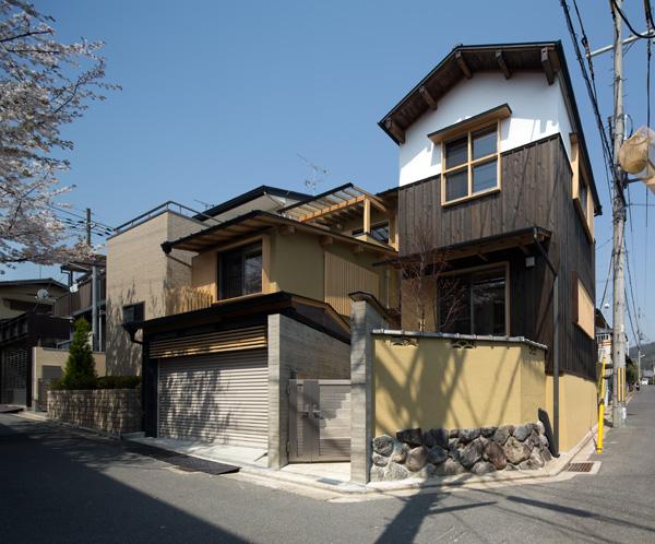 龍安寺の家Ⅱ~二世帯の住処~(天授ヶ丘の家)