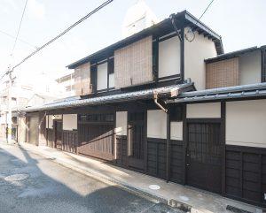 都島の新築町家 ファサード