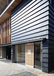 京都木材会館 玄関廻り