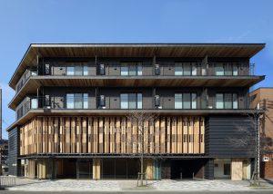 京都木材会館 外観東面